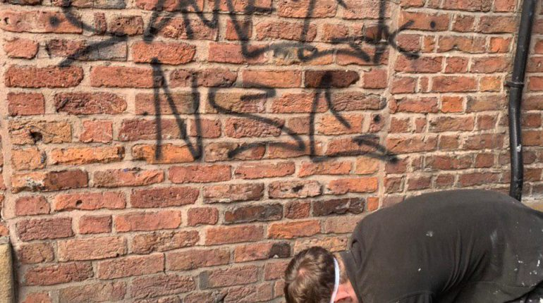 Graffiti removal manchester - City Centre Maintenance Property Services 1