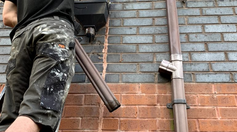 Gutter & downpipe cleaning, unblocking & repairs call now for all enquiries 3